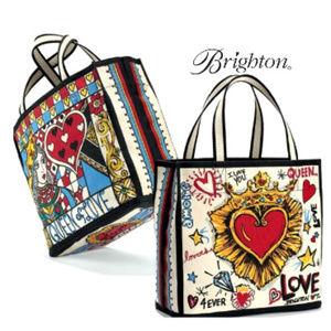 Brighton Queen of Love Tote Bag